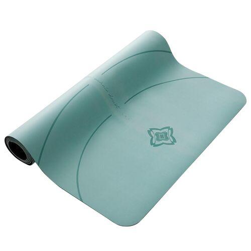 DOMYOS Yogamatte für dynamisches Yoga Grip + 3mm grün