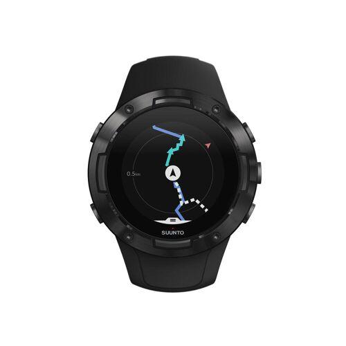 Suunto GPS-Multisportuhr Pulsuhr Suunto 5 All Black