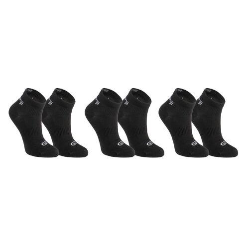 Kalenji Socken Leichtathletik ×3 niedriger Schaft Kinder