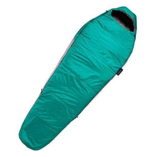 FORCLAZ Trekking-Schlafsack Trek 500 10°C blau