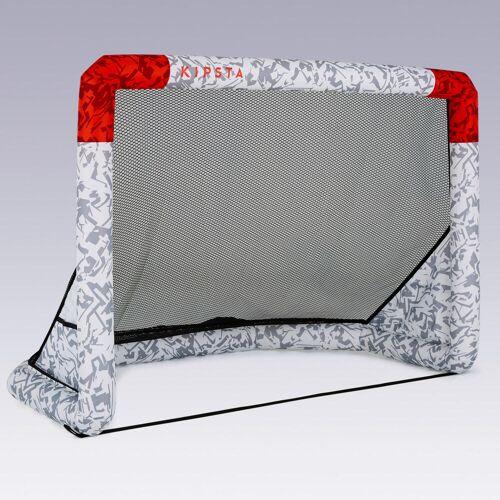 KIPSTA Fussballtor Air Kage aufblasbar weiss/rot