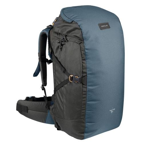 FORCLAZ Backpacking-Rucksack 40 l Travel 100 blau
