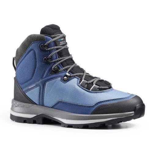 FORCLAZ Trekkingschuhe Trek 100 wasserdicht Damen blau