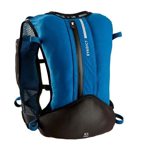 KALENJI Trailrucksack Running 10L blau/schwarz