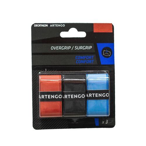 ARTENGO Griffband Comfort Tennisschläger Overgrip 3er-Pack pink