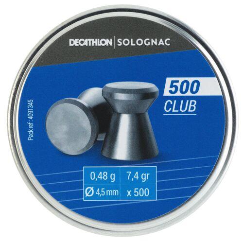 SOLOGNAC Luftgewehrmunition Club für Luftgewehre 500 Stk.