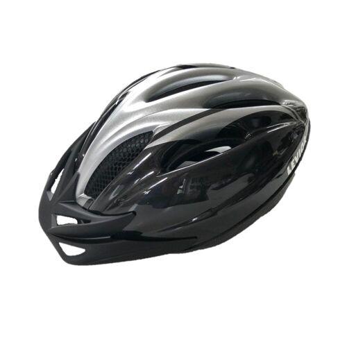 DECATHLON MTB Helm Levior silber/schwarz