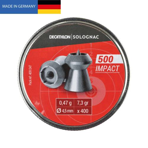 SOLOGNAC Luftgewehrmunition IMPACT 4,5 MM ×400