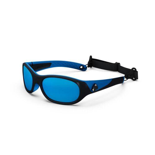 QUECHUA Sonnenbrille MH K140 Kinder 4–6 Jahre Kategorie 4 BLAU/GRAU