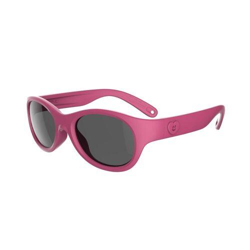 QUECHUA Sonnenbrille Wandern MH K100 Kleinkinder 2-6 Jahre Kategorie 3 rosa