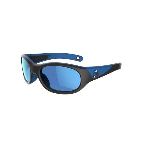 QUECHUA Sonnenbrille MH K140 Kat.4 Kinder 2–6 Jahre schwarz/blau