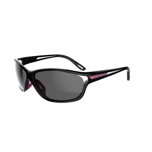 KALENJI Sonnenbrille Laufsport Runstyle Kat.3 grau/violett