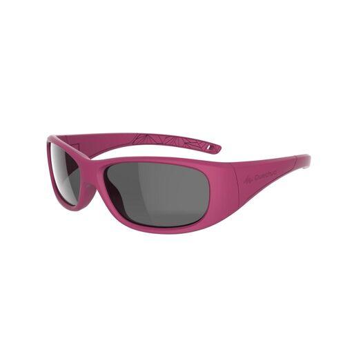 QUECHUA Sonnenbrille Wandern MH T100 Kinder von 6bis 10 Jahren Kategorie3 pink