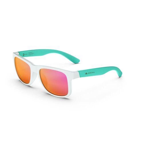 QUECHUA Sonnenbrille MH T140 Kat. 3 Kinder ab 10 Jahren weiss