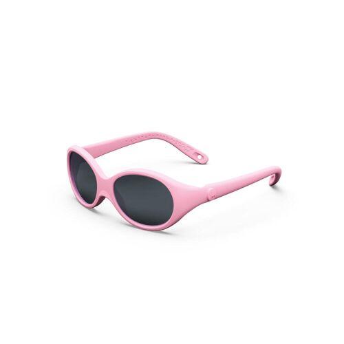 QUECHUA Sonnenbrille MH100 Baby 6–24 Monate Kategorie 4 pink