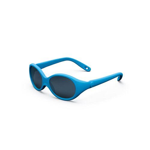 QUECHUA Sonnenbrille MH B100 Baby 6–24 Monate Kategorie 4 blau