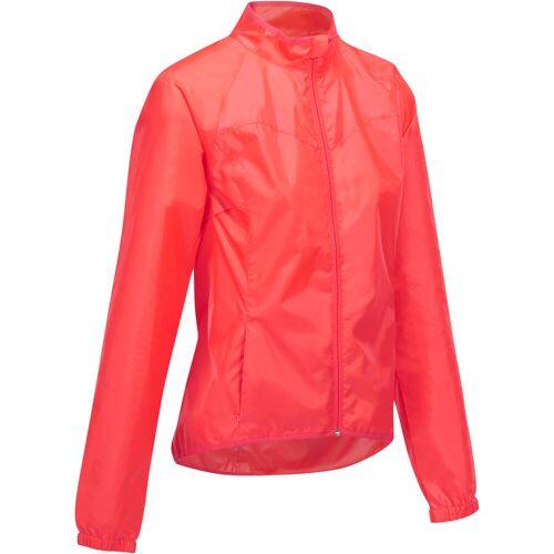 TRIBAN Fahrrad Regenjacke RC 100 Damen rosa ROSA/ROT