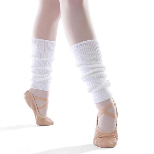 DOMYOS Tanzstulpen Ballett und Modern Dance Mädchen weiß