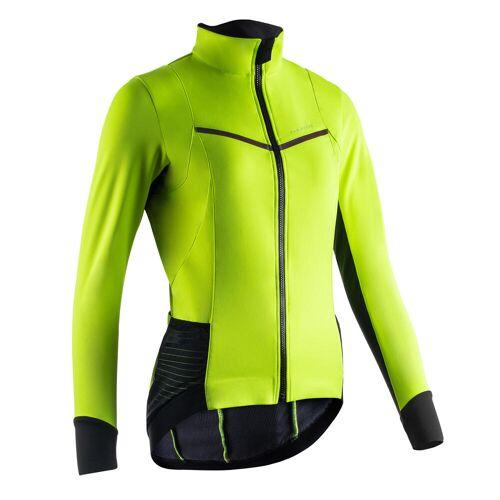 VAN RYSEL Fahrrad Winterjacke Rennrad RR 900 Damen neongelb
