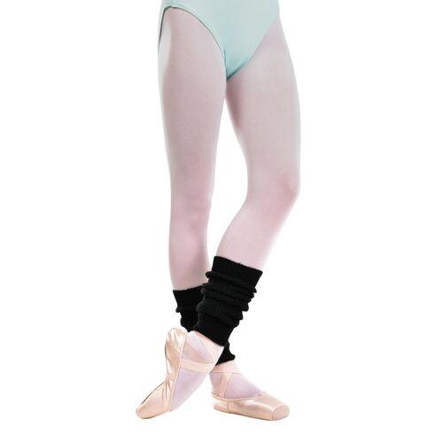 DOMYOS Tanzstulpen Ballett und Modern Dance Mädchen schwarz