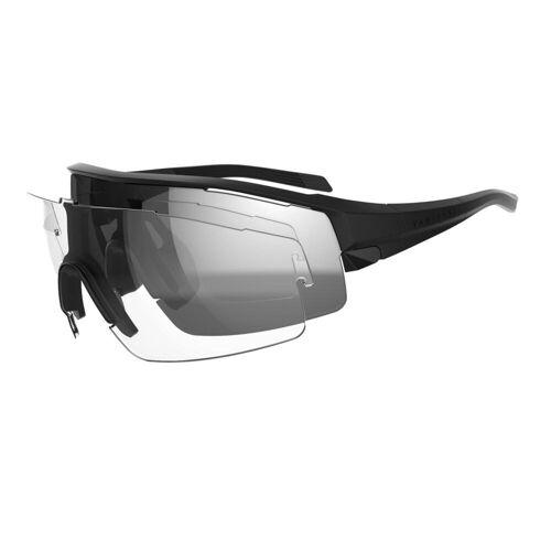 VAN RYSEL Fahrradbrille Rennrad RR 900 schwarz SCHWARZ