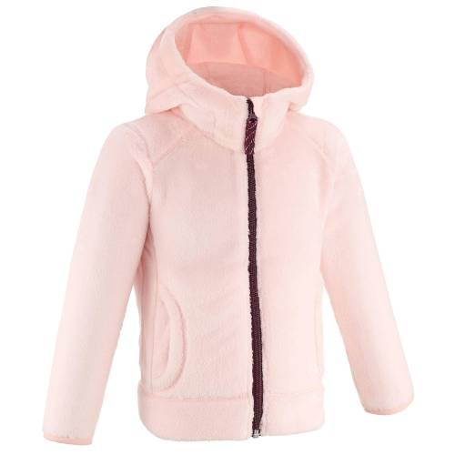QUECHUA Fleecejacke Wandern MH500 Kinder Mädchen Gr.92–116 rosa ROSA