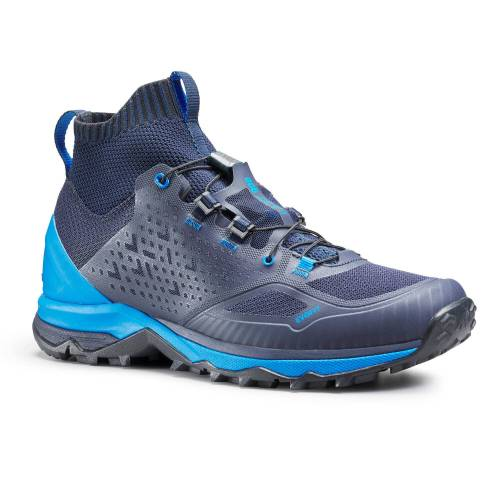 QUECHUA Wanderschuhe Speed Hiking FH900 Herren blau BLAU