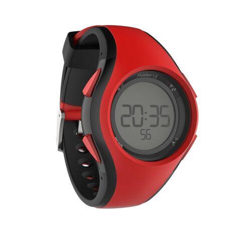 KALENJI Sportuhr W200M rot/schwarz