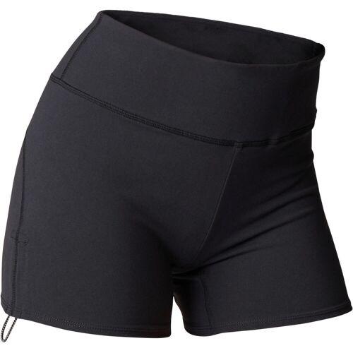 Domyos Shorts dynamisches Yoga schwarz