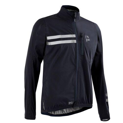 TRIBAN Fahrrad Regenjacke Rennrad RC 500 schwarz