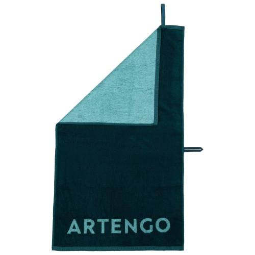 ARTENGO Handtuch Tennis TS 100 grün