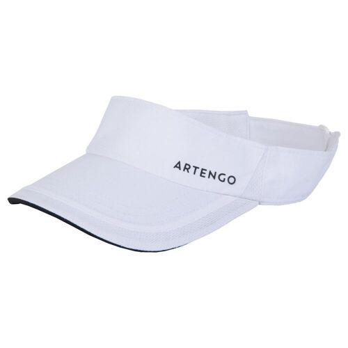 ARTENGO Visier Tennis TV 100 weiß T56