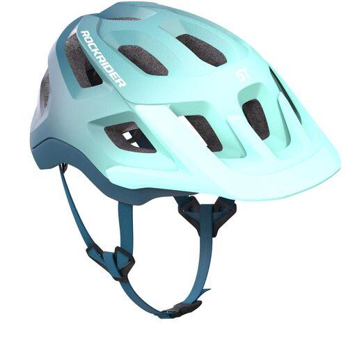 ROCKRIDER Fahrradhelm MTB ST 500 blau