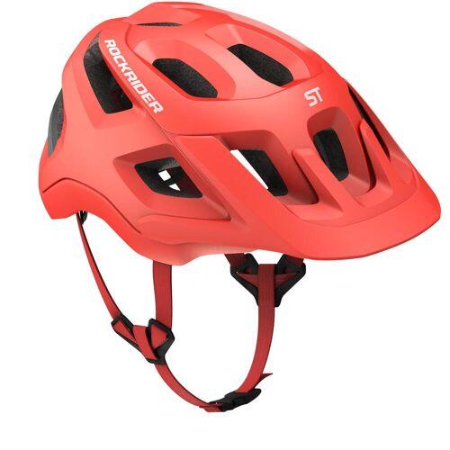 ROCKRIDER Fahrradhelm MTB ST 500 rot