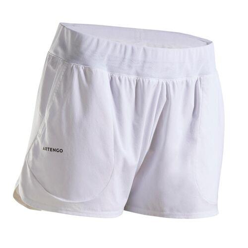 ARTENGO Tennisshorts SH DRY 500 Tennishose Damen weiß WEIß