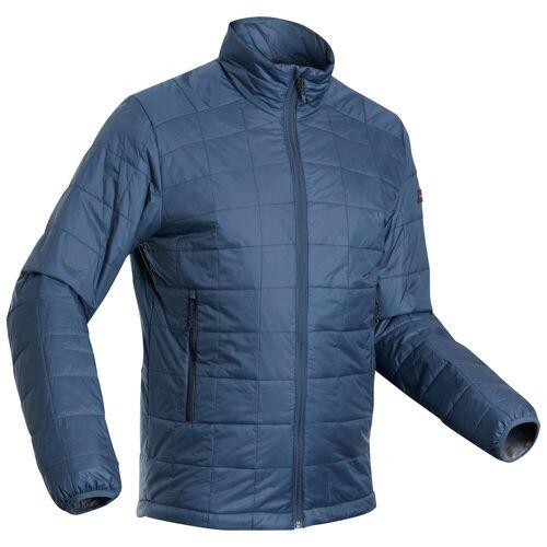 FORCLAZ Wattierte Jacke Trek 100 Komforttemperatur -5 °C Herren blau