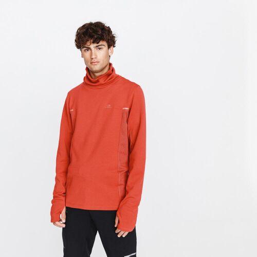 KALENJI Lauf-Sweatshirt Run Warm+ Herren rot