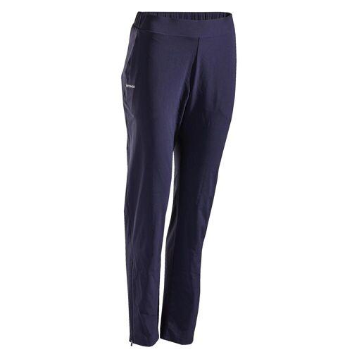 ARTENGO Tennishose Damen PA Dry 500 marineblau BLAU