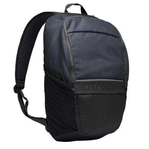 KIPSTA Rucksack Essential 25 Liter schwarz/grau GRAU/SCHWARZ