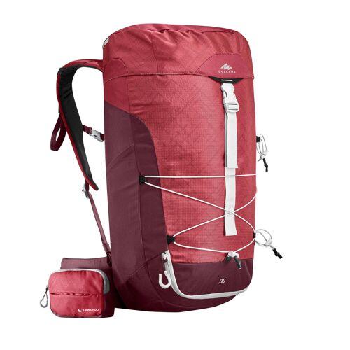 QUECHUA Wanderrucksack Bergwandern MH100 30Liter rosa ROSA