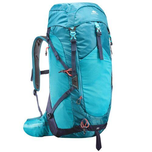 QUECHUA Wanderrucksack Bergwandern MH500 30 Liter blau