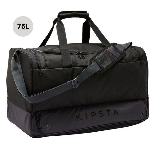 KIPSTA Sporttasche Hardcase 75 Liter schwarz