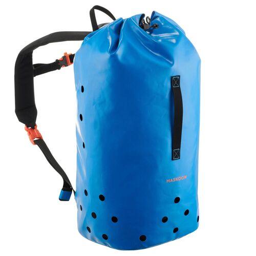 MASKOON Rucksack wasserdicht Canyoning 25Liter blau