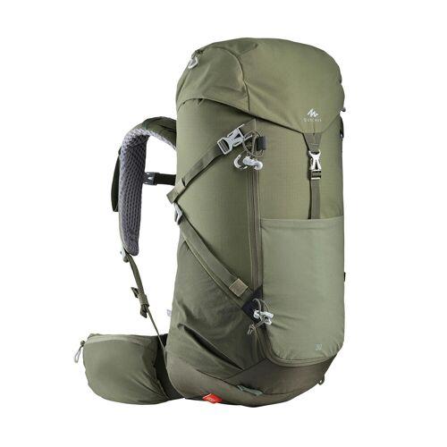 QUECHUA Wanderrucksack Bergwandern MH500 30 Liter khaki
