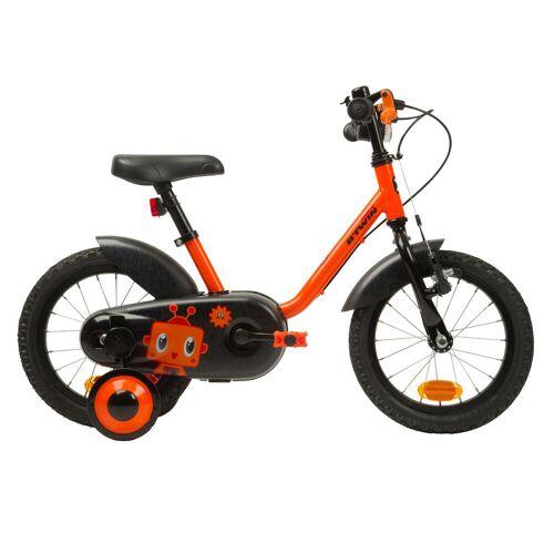 Btwin Kinderfahrrad 14 Zoll Robot 500 orange
