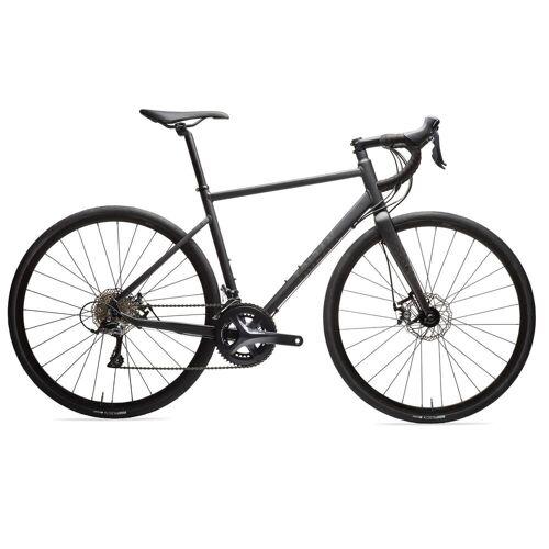 Triban RC 500 Scheibenbremsen Rennrad, schwarz - Sora