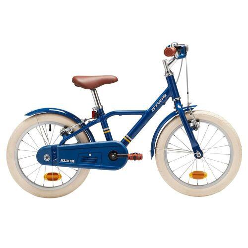 BTWIN Kinderfahrrad 16 Zoll City 900 blau