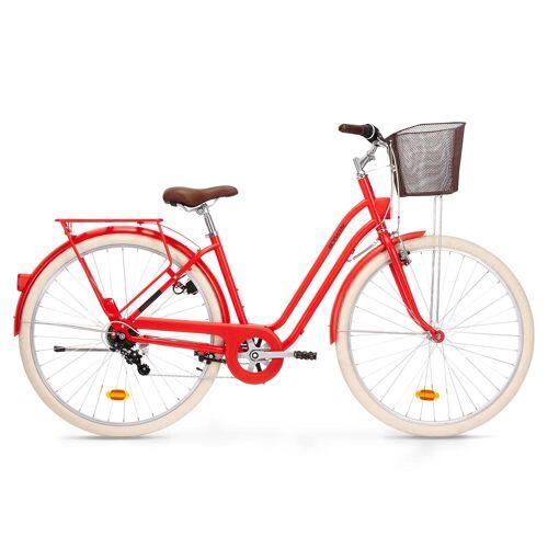 ELOPS City Bike 28 Zoll Elops 520 LF Damen rot ROT
