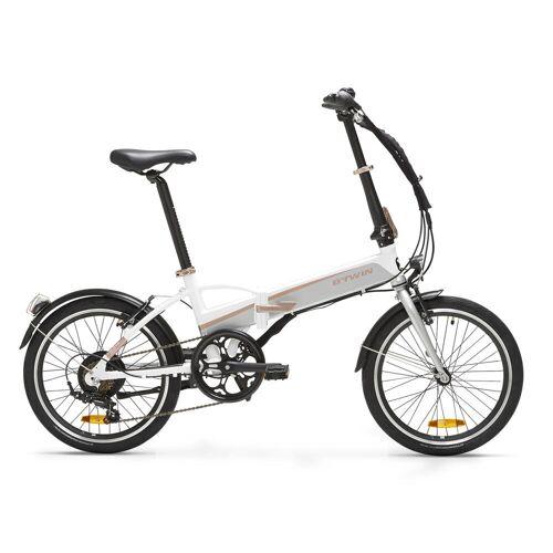 BTWIN E-Bike Faltrad Klapprad 20 Zoll Tilt 500E weiß