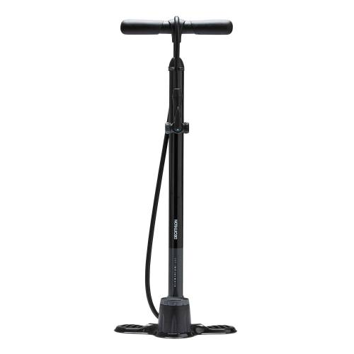 RIVERSIDE Fahrradpumpe Standpumpe 900 schwarz SCHWARZ
